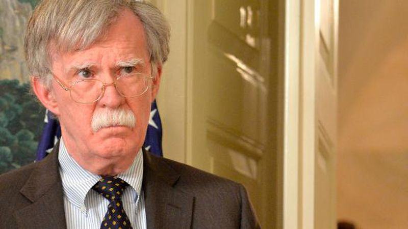 """The Trump administration sued last year to block the release of Bolton's book, """"The Room Where..."""