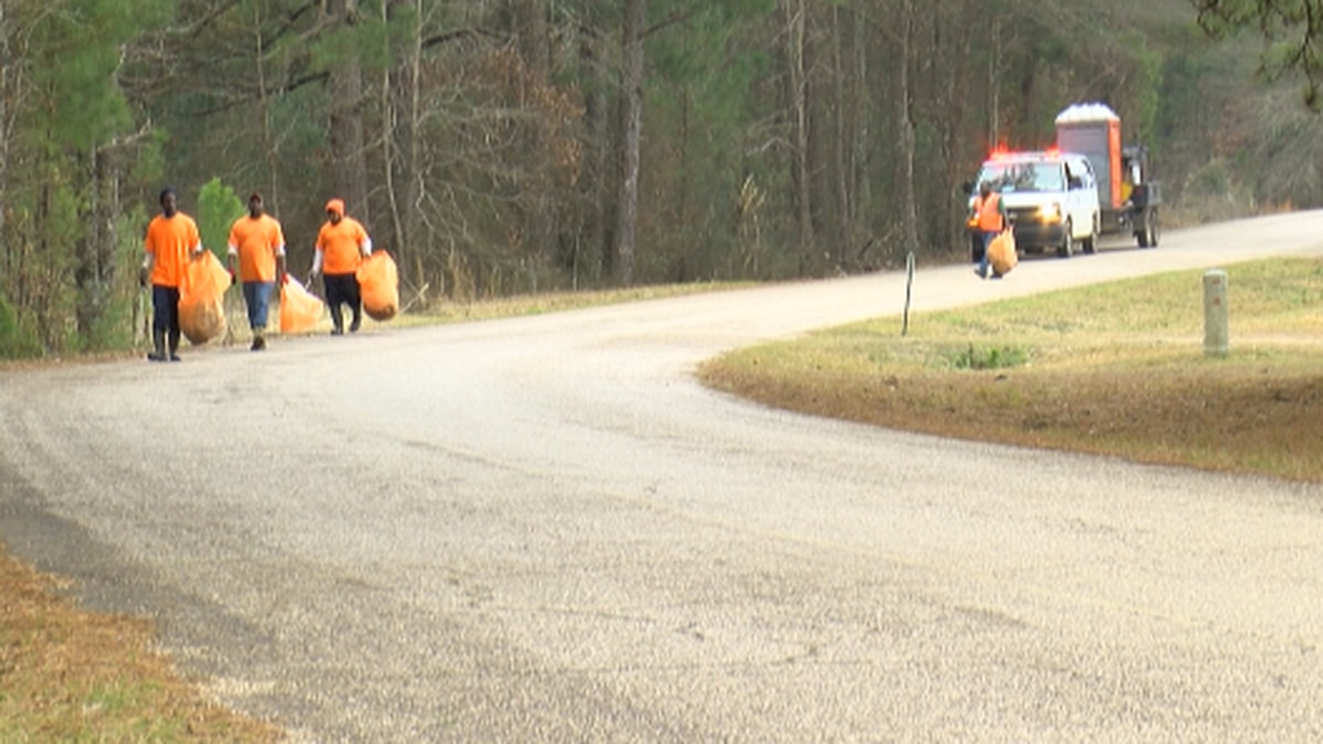 On January 13, a handful of Webster Parish inmates noticed flames pouring out of this home and...
