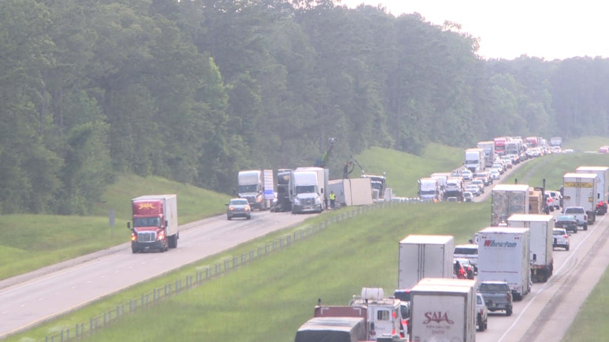 Accident on I-20 East