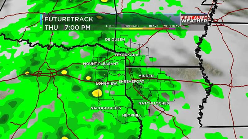 Tracking rain and humidity.