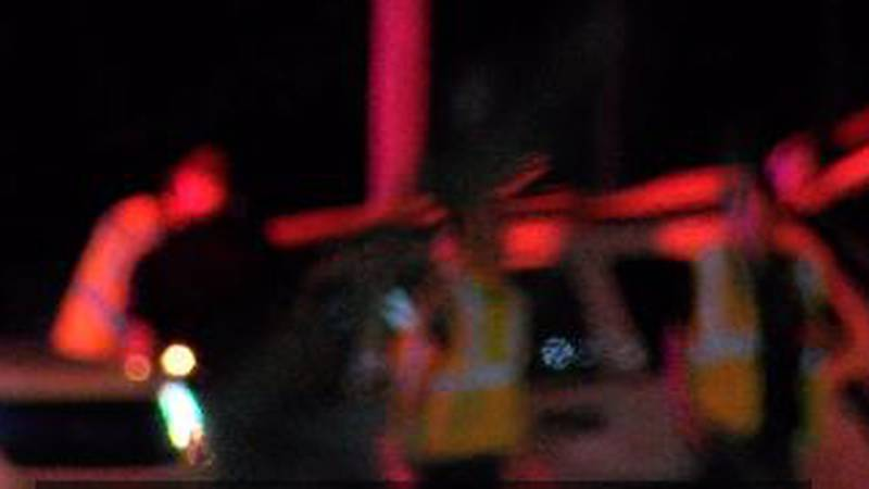 Police confirm that a woman died and two small children were hurt in a rollover accident on...