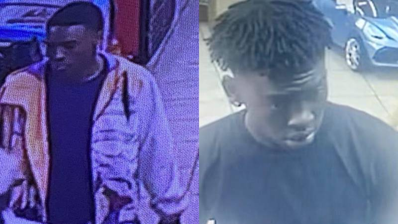 Two suspects involved in armed robbery outside of Texarkana convenience store.