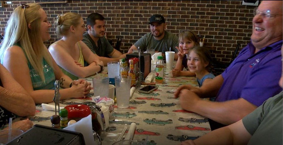The entire Kremer clan ate out on the first day of Restaurant Week in Nacogdoches. (Source:...