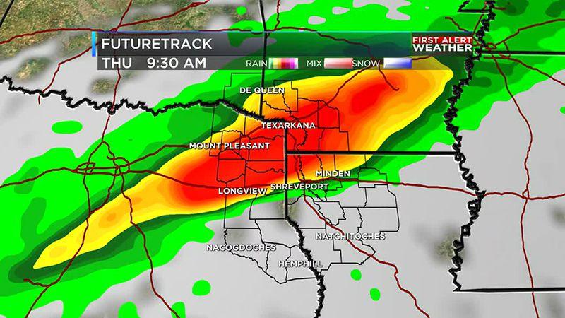 Rain and storms return mid week
