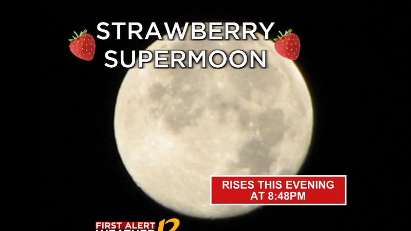 The 'Strawberry' supermoon rises tonight