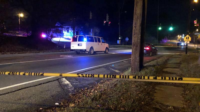 Shreveport Police on scene