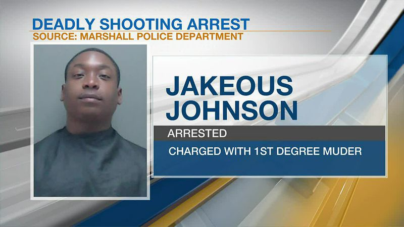 Marshall man arrested after allegedly shooting, killing another man