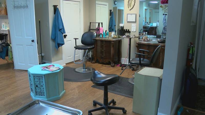 The LaBella Salon and Boutique in Walker, La. has been shut down for five weeks now due the...