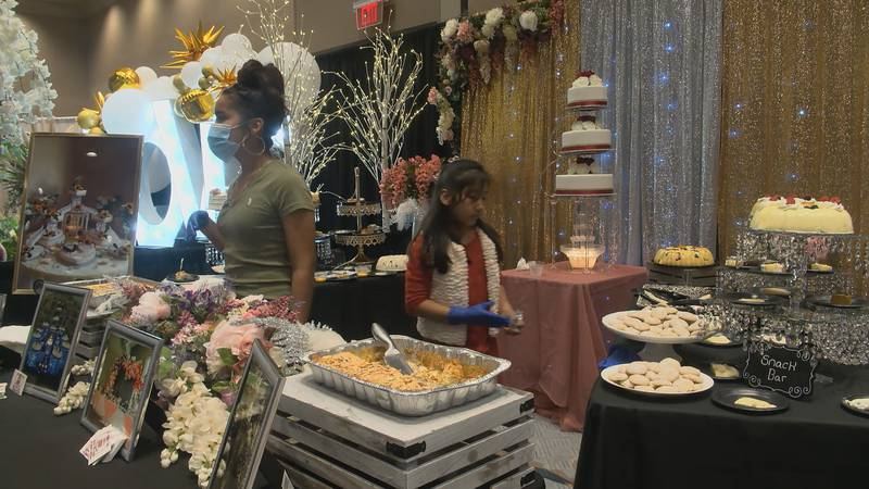 One bride-to-be and a couple of businesses explain that the pandemic has thrown obstacles, but...