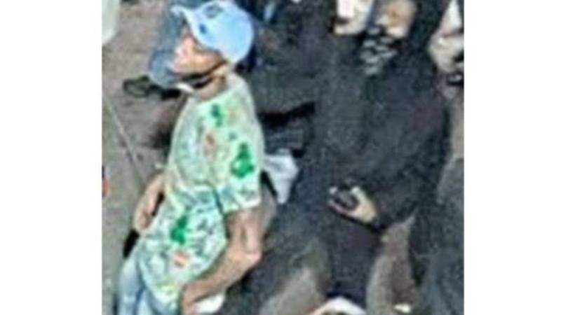 Two men are being sought for a double shooting in the 300 block of Bourbon Street on March 20.