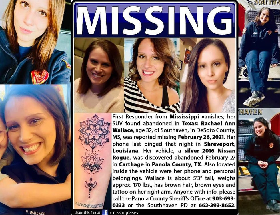 Rachael Ann Wallace was reported missing Feb. 26, 2021.