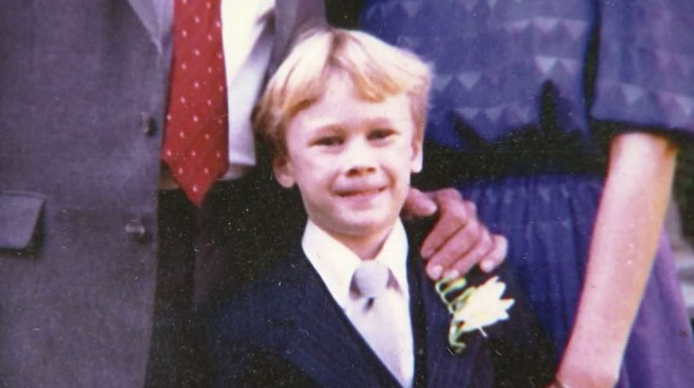Joshua Harmon, 8, was reported missing in 1988. His body was later found in a wooded area near...