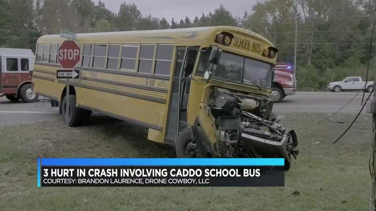 Caddo bus crash