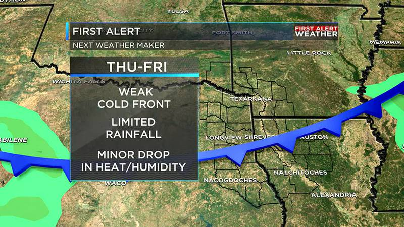 Cold front on the way