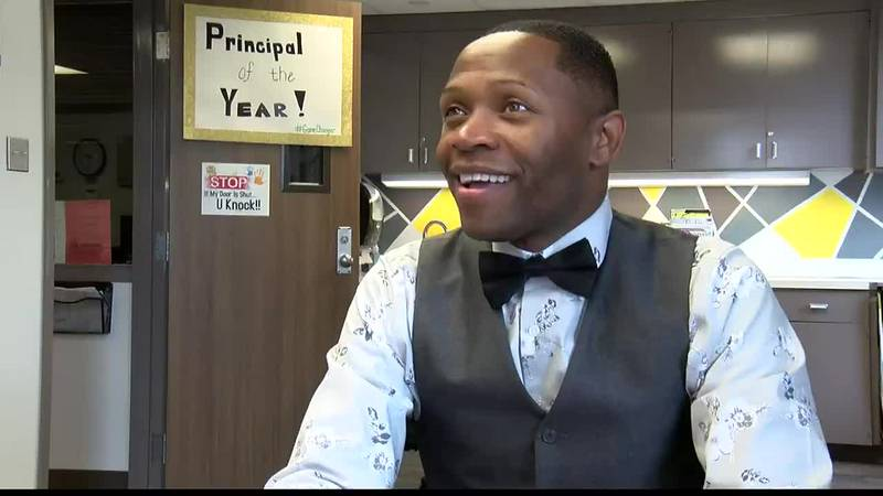 Educator is first from Caddo Parish to earn title of Louisiana principal of the year