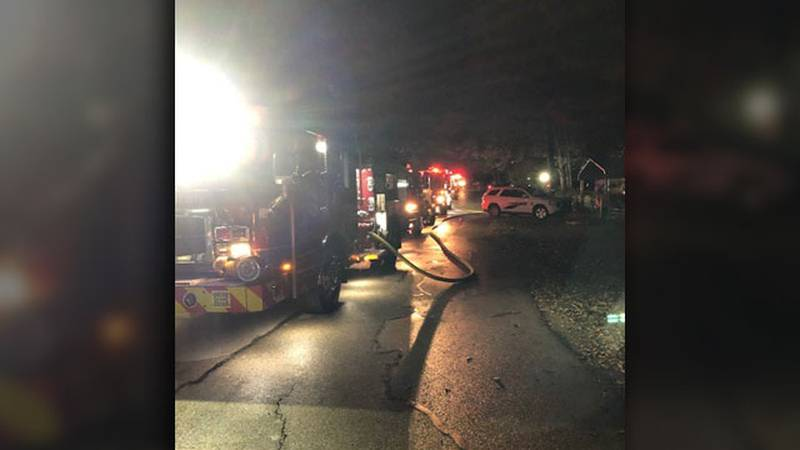 Pictured is the scene of a fatal house fire that occurred in Gun Barrel City. (Source: Gun...