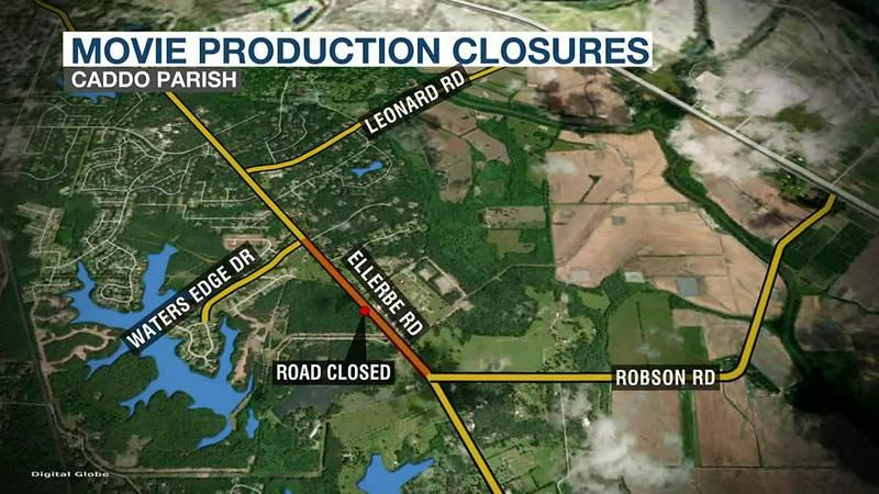 Caddo Road Closures
