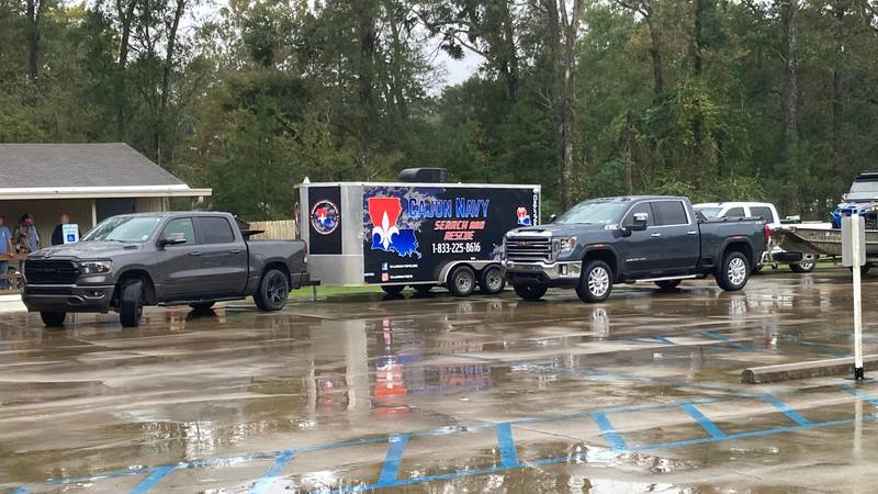 Factions of the Cajun Navy on standby to respond to parts of Louisiana affected by Hurricane...
