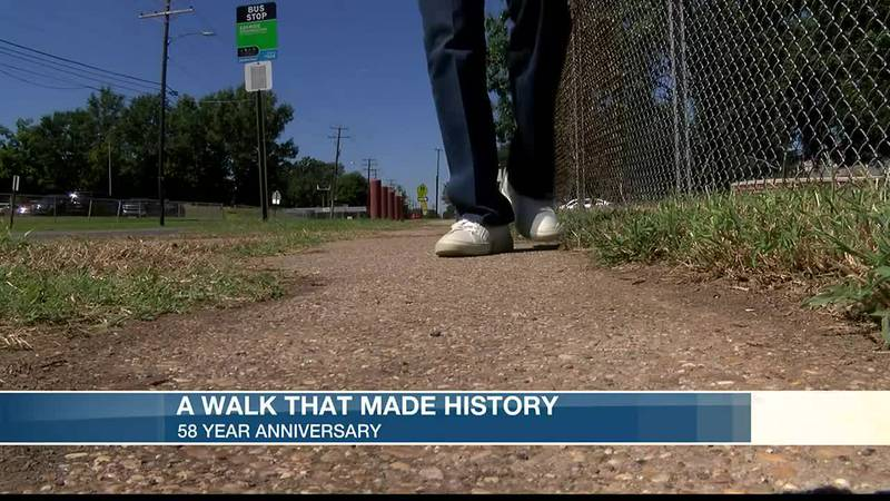 A walk that made history