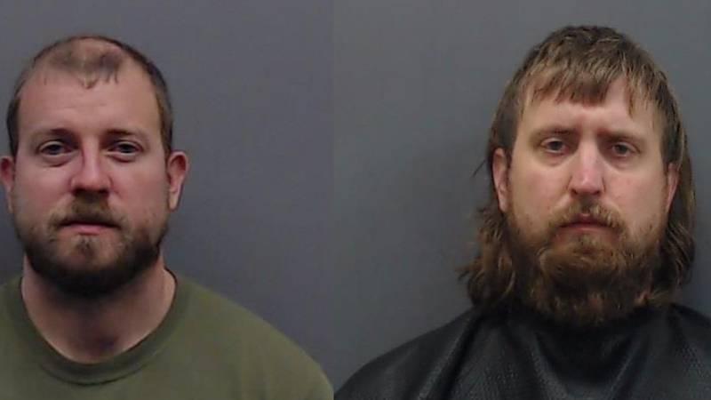 Ryan Nichols, left, Alex Harkrider, right