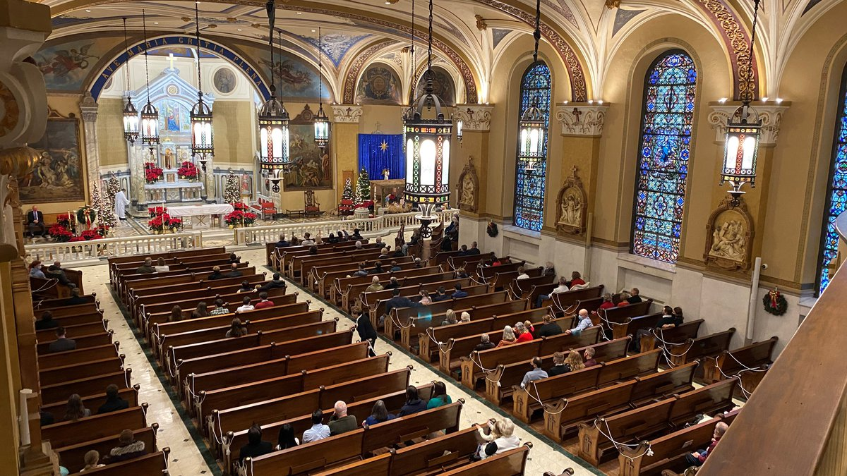 During the Christmas Eve holiday, Christians in WAVE Country say going to Mass during the...