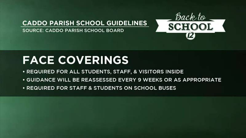 Caddo Parish releases back-to-school guidelines