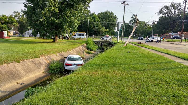 According to police, the driver of a white Ford Crown Victoria was making a left turn onto...