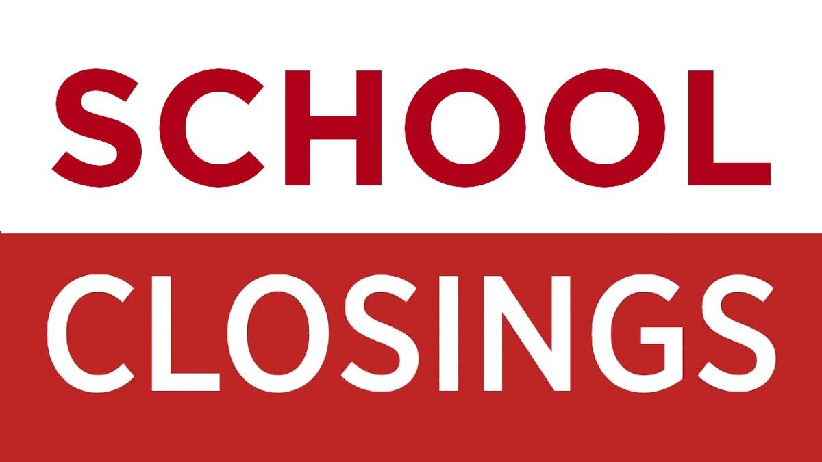 School closures in the WALB viewing area.