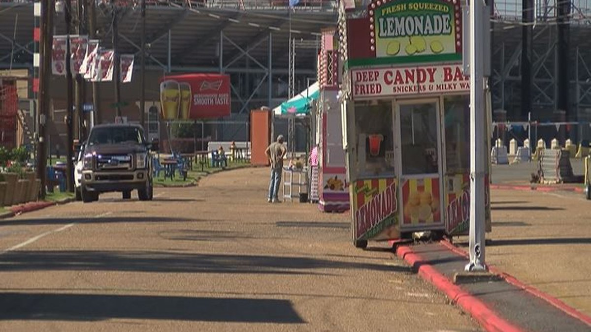Organizers gear up for the State Fair of Louisiana.