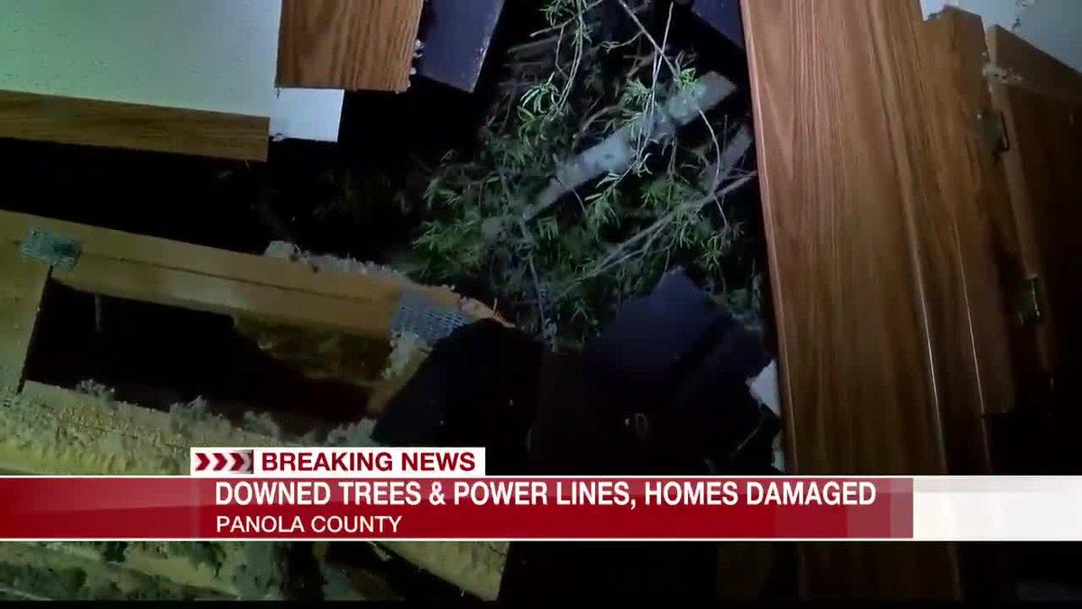 Panola County damage