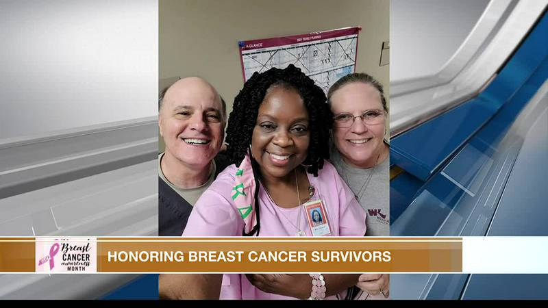 Breast cancer survivor talks about what she went through during her recovery