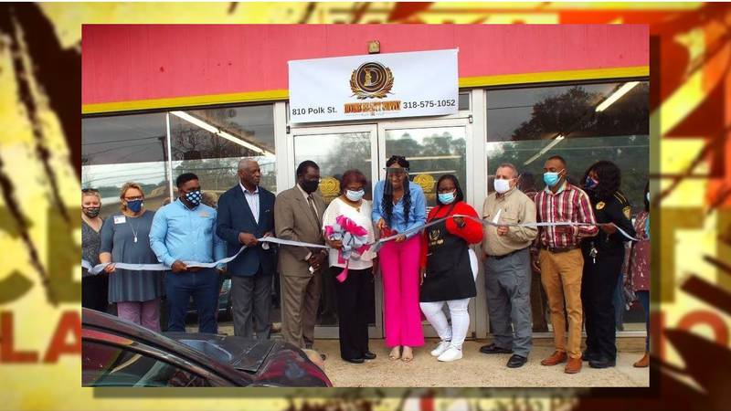 Grand opening of Divine Beauty Supply, Mansfield, Louisiana