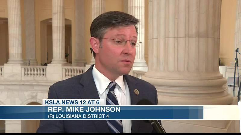 Congressman Mike Johnson says ICE told him to expect many more busloads of immigrants in...