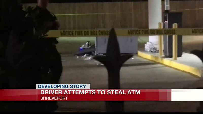 SPD looking for suspects after attempted ATM theft on Youree Drive