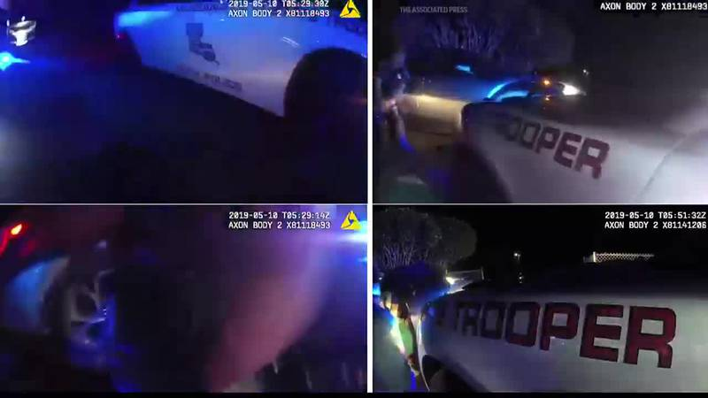Louisiana State Police footage