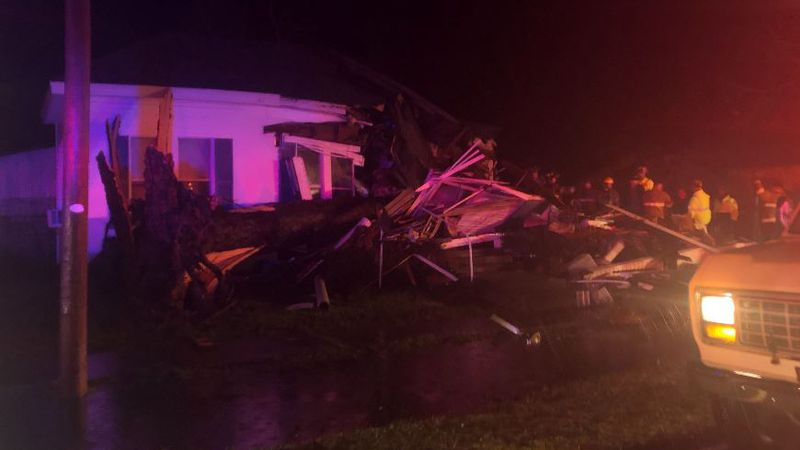 An elderly man died when a tree fell on his house shortly after 1:14 a.m. Jan. 11 near Pine...
