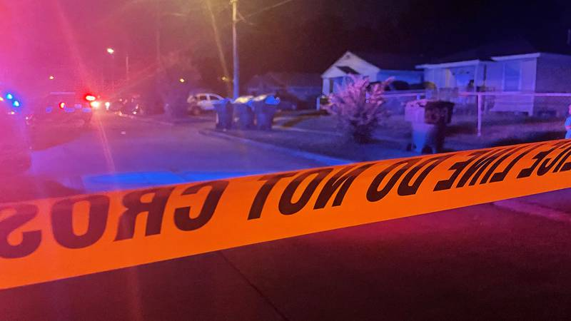 Shreveport police responded to multiple shooting calls, including this one on East Dudley...