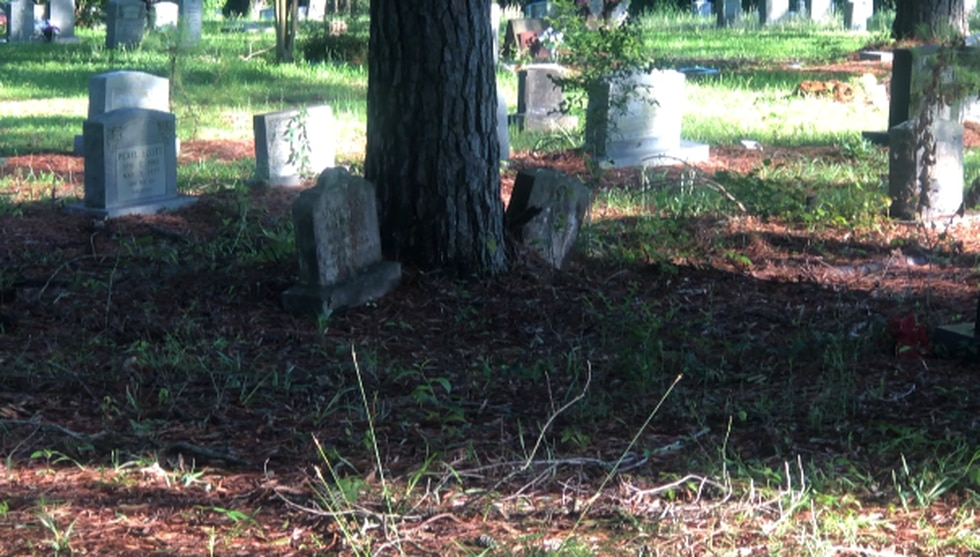 Conditions at Carver Cemetery
