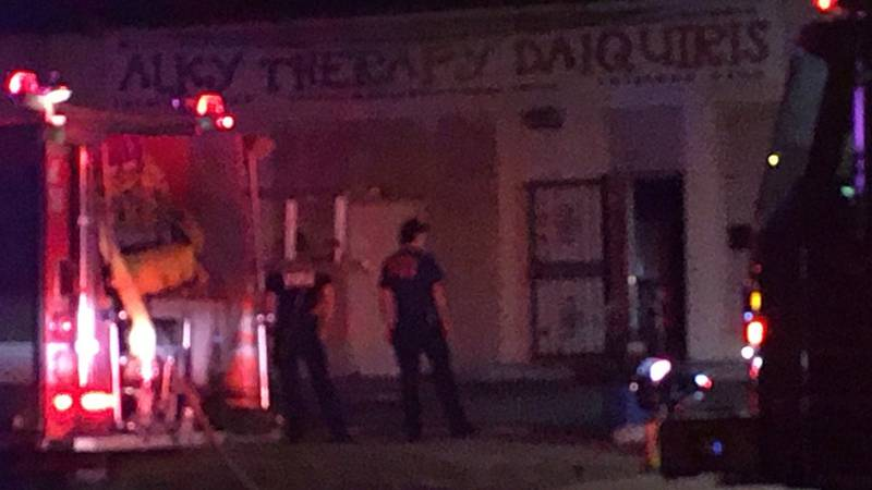 Dispatchers got the call around 3 a.m. to Alky Therapy Daquiris in the 4300 block of Greenwood...