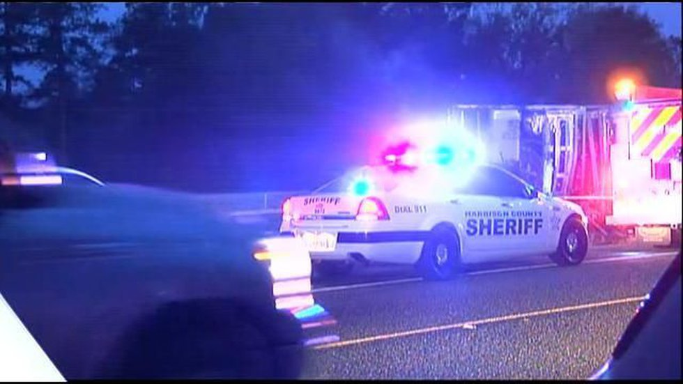 First reponders are on the scene of a fatal 18-wheeler accident.