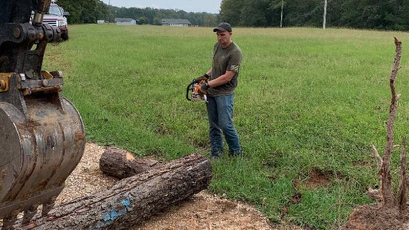 Boy Scouts of northwest Louisiana obstacle course