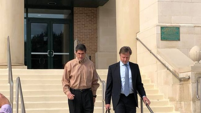 Jack Strain pleaded not guilty to charges of aggravated rape and incest.