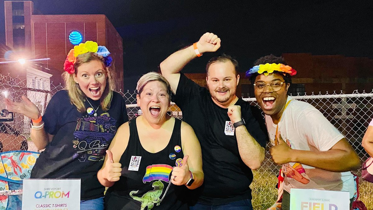 The LGBTQ+ community in Shreveport says Pride Month means everything to them.