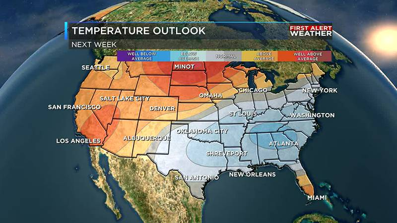 After incredible heat this week, we are tracking cooler weather ahead for the ArkLaTex.