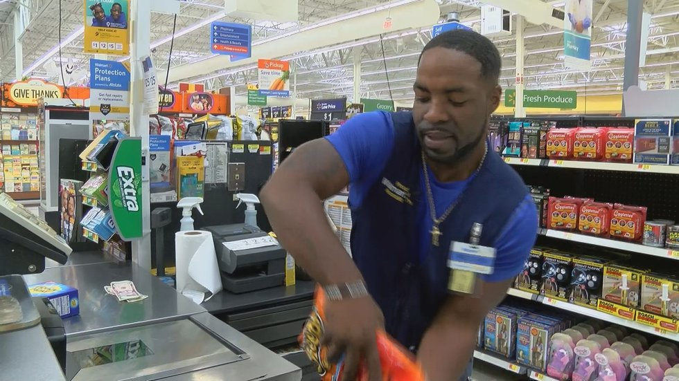 At Walmart on Bert Kouns Industrial Loop in Shreveport, Fred Lathan elevated his store to a new...