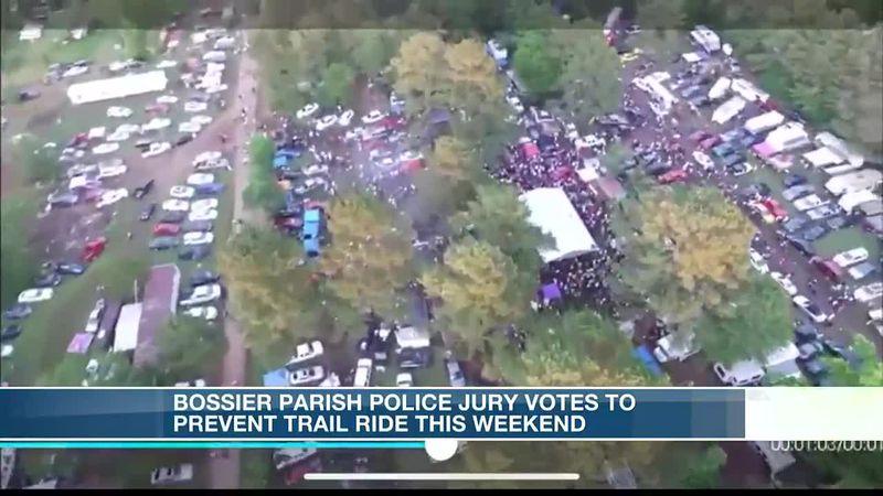 Bossier Parish Police Jury votes to halt upcoming trail ride after incident in DeSoto Parish