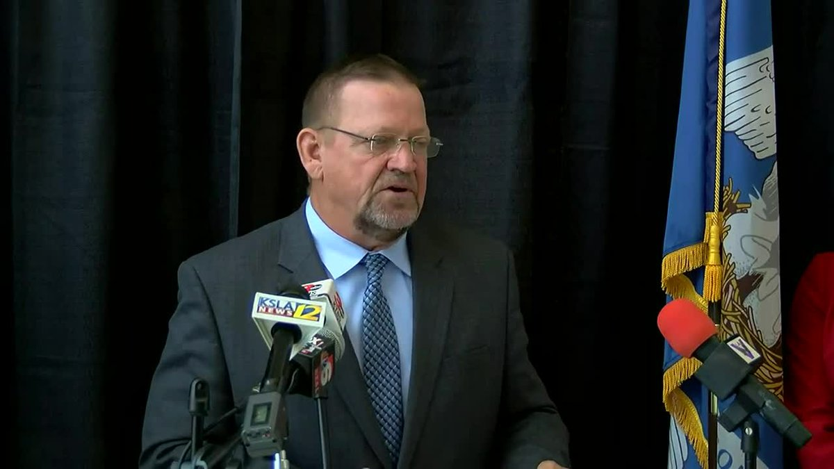 Bossier Parish Schools Superintendent Mitch Downey spoke at a news conference regarding the...