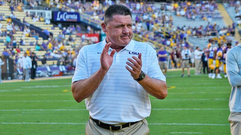 LSU head coach Ed Orgeron will be out at the end of the 2021 season.