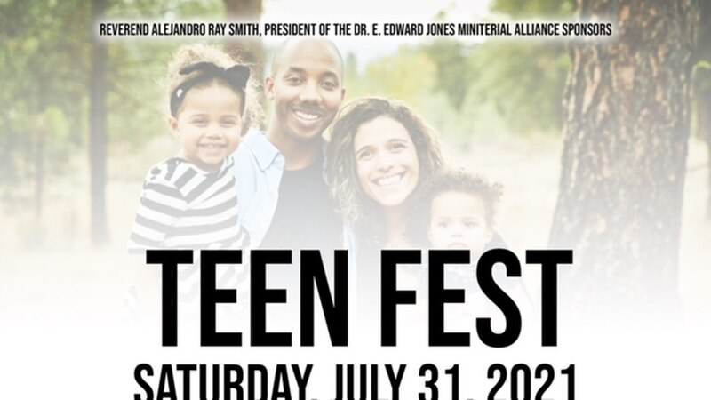 TEEN FEST will be held in Shreveport, La. on Saturday, July 31 in an effort to get students...