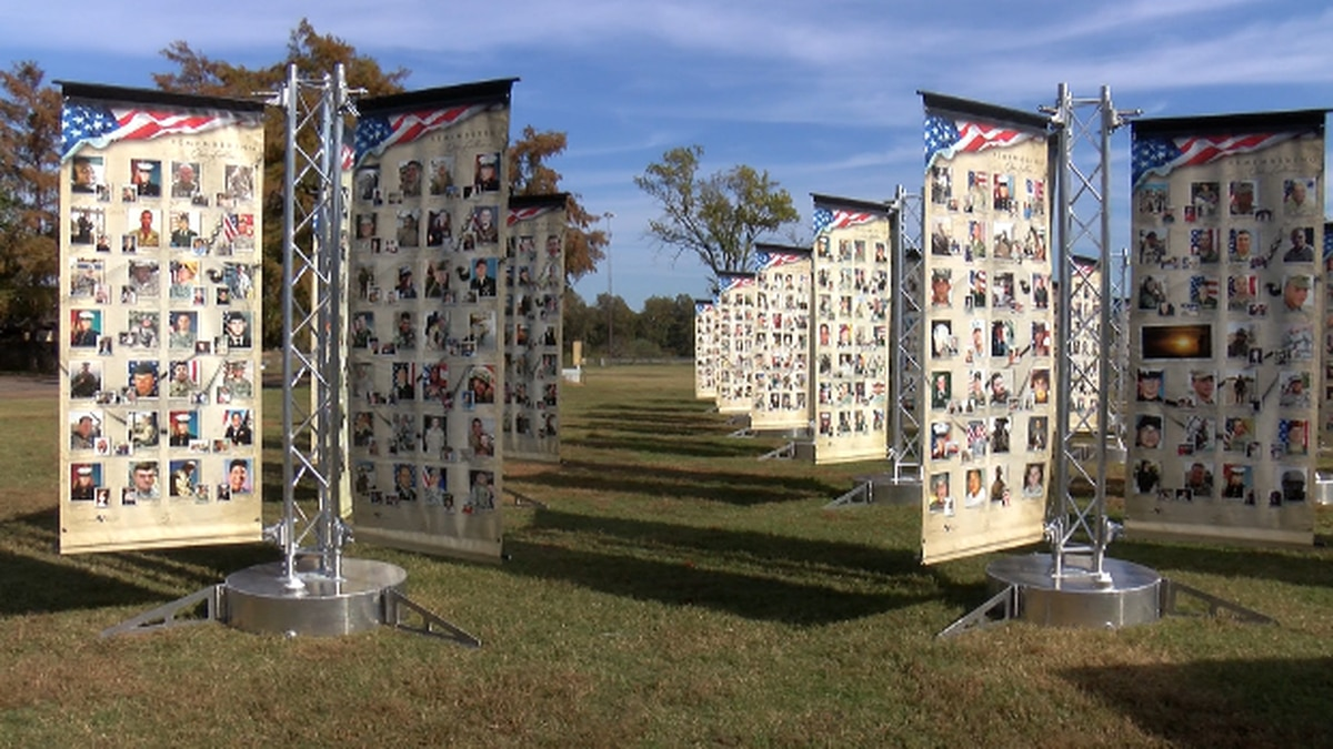 The Remembering the Fallen memorial  will be showcased at the 16th Annual Veterans for Veterans...